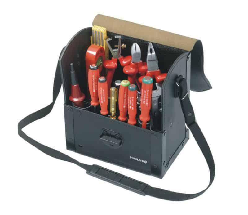 74a3495cb005d PARAT Torba narzędziowa wąska dla elektryka, skórzana (30.000-581)