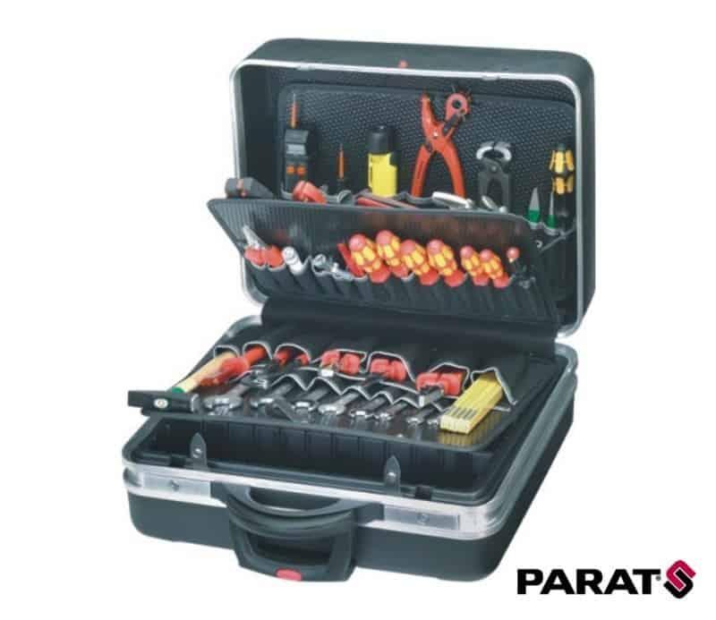 0dfa46ab4c424 PARAT Walizka narzędziowa na kółkach z kieszonkami 460x190x310mm  (481.500-171)